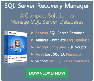 SQL Server Recovery Manager